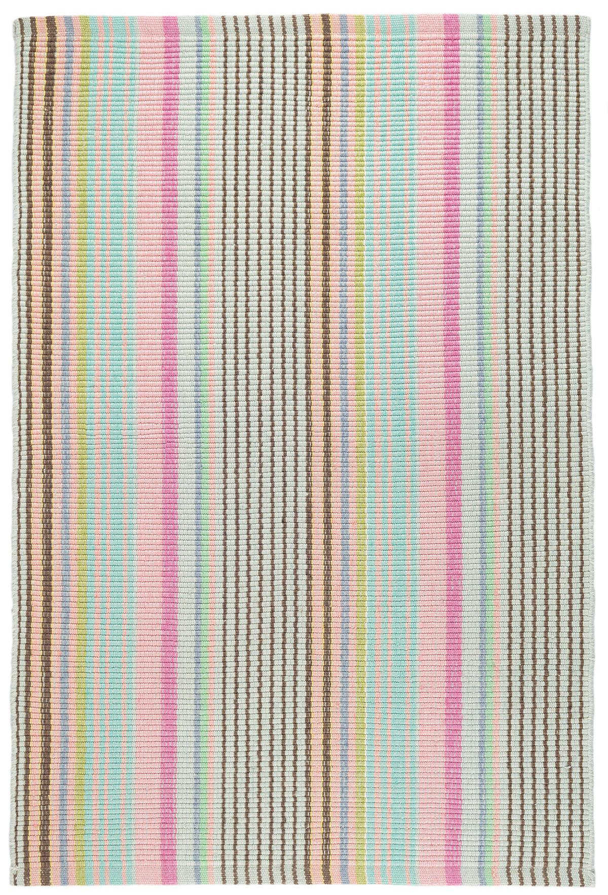 Neapolitan woven cotton rug dash albert for Dash and albert blankets