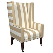 Alex Linen Neo-Wing Chair