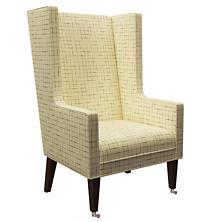 Nicholson Grey Neo-Wing Chair