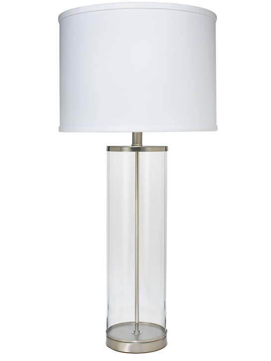 Nickel Rockefeller Lamp