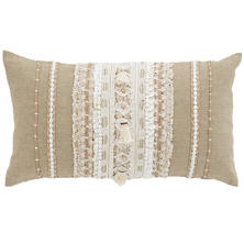 Nikki Embroidered  Decorative Pillow