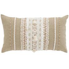Nikki Embroidered  Decorative Pillow