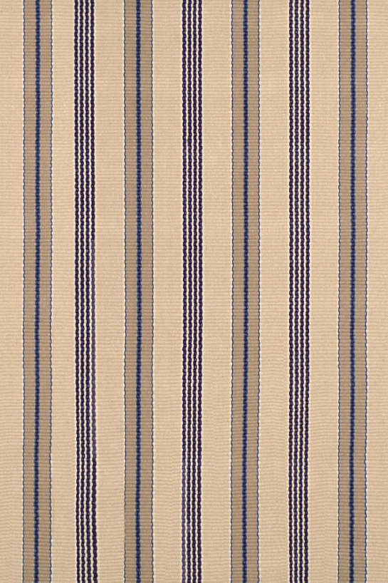 Nimes Ticking Woven Cotton Rug