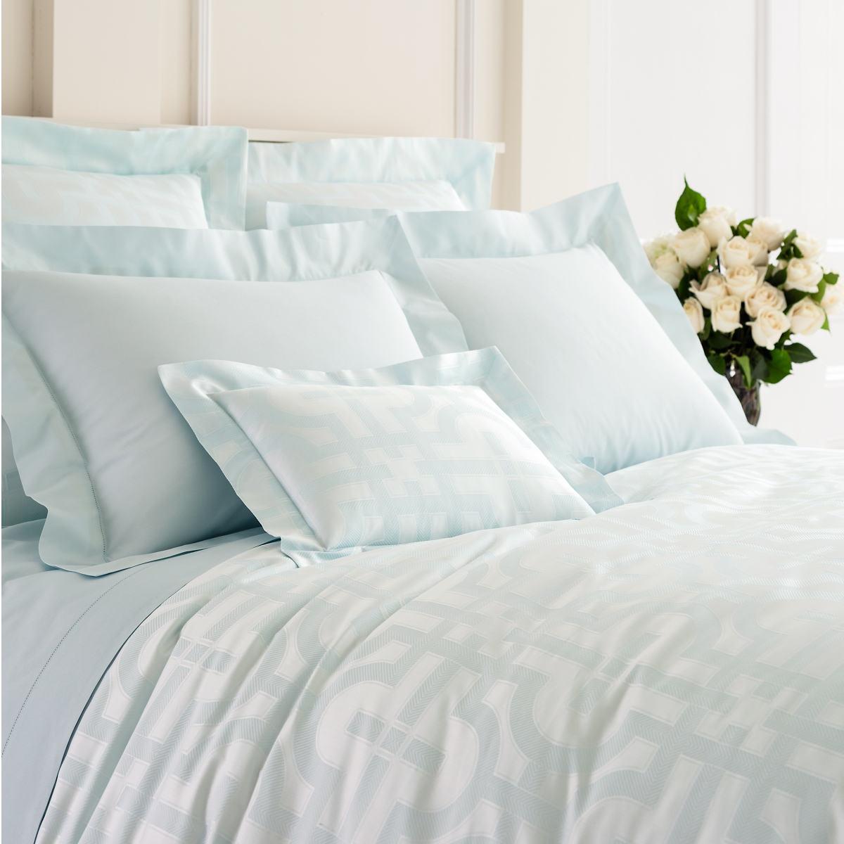 Nodo Pearl Blue Duvet Cover