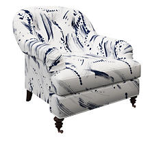 Brushstroke White Norfolk Chair