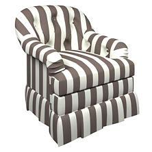 Alex Shale Norfolk Skirted Chair