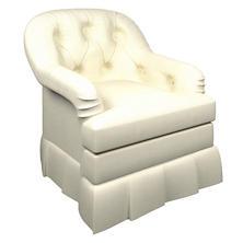 Estate Linen Ivory Norfolk Skirted Chair