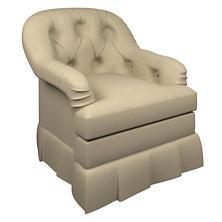 Estate Linen Natural Norfolk Skirted Chair