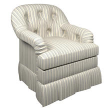 Flying Point Norfolk Skirted Chair