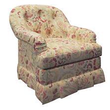 Ines Norfolk Skirted Chair