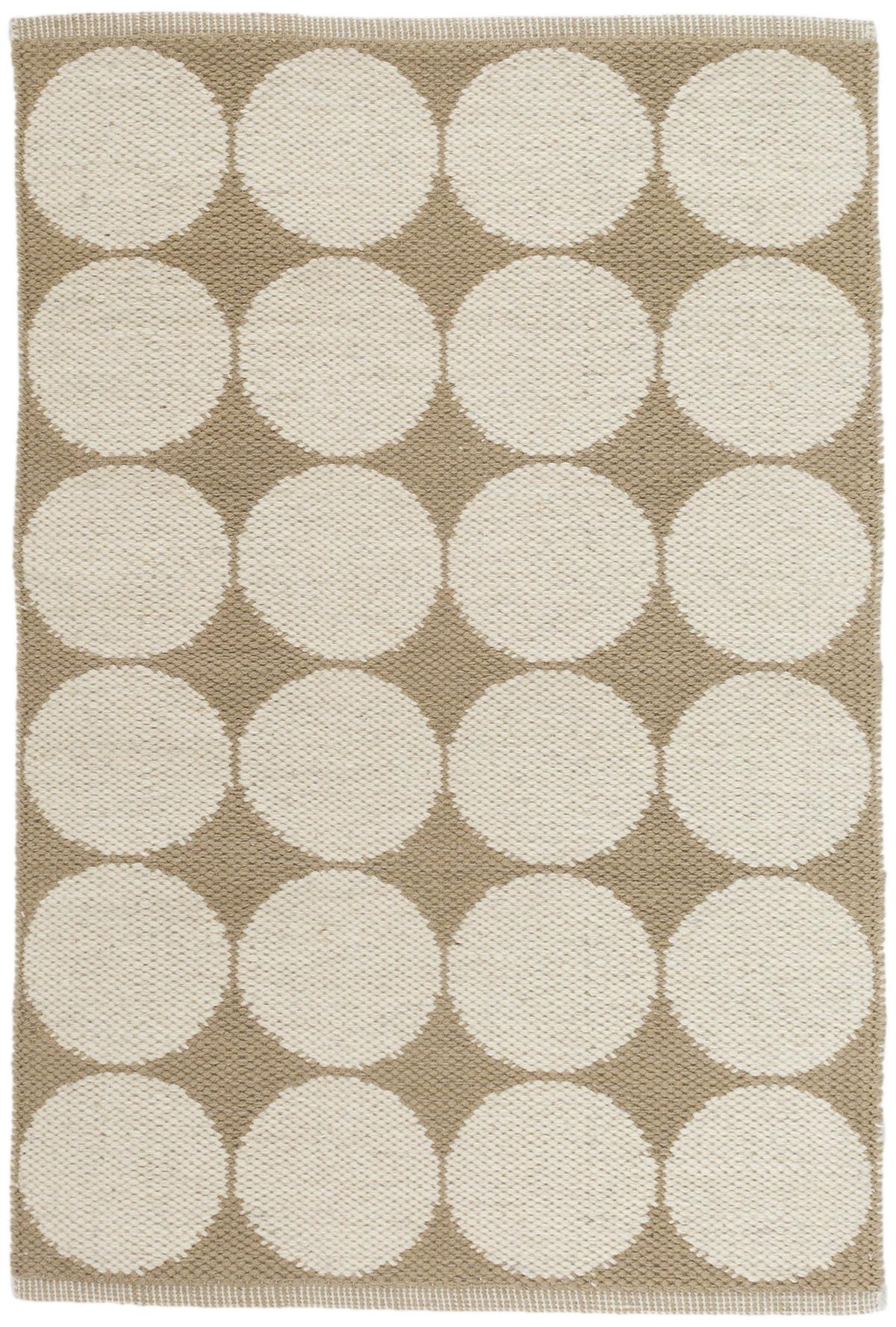 Orbit Natural Wool Woven Rug