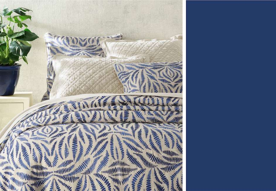 Blick Duvet Blue Bed