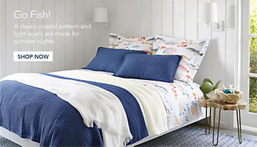 Bright Pillows Bedroom Look