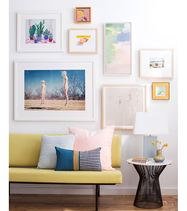 How To Create the Perfect Gallery Wall with Emily Henderson | Annie Selke's Fresh American Style