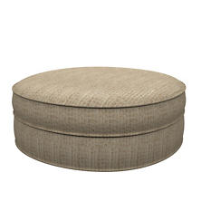 Pebble Sand Palm Court Ottoman