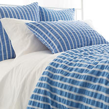 Parker French Blue Duvet Cover