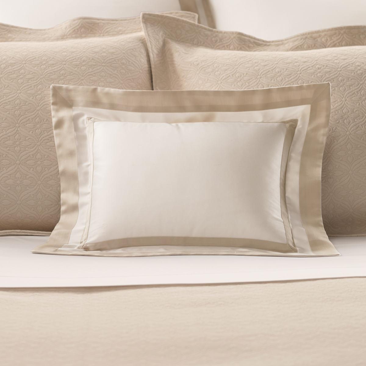 Piazza White/Semolina Decorative Pillow