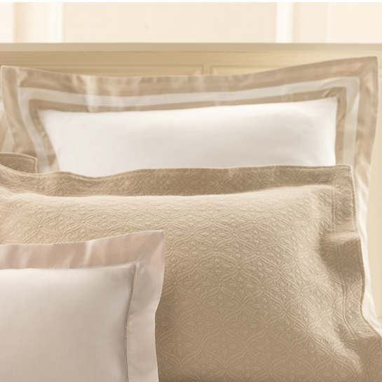Piazza White/Semolina Pillowsham