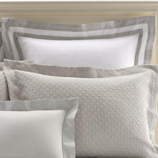Piazza White/Zinc Pillowsham