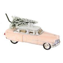 Pink Cadillac Ornament