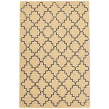 Plain Tin Wheat Wool Micro Hooked Rug