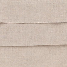 Pleated Linen Natural Swatch