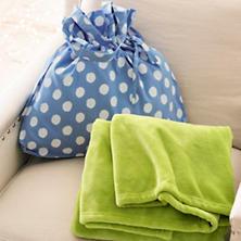 Polka Dot Blue/White Gift Bag