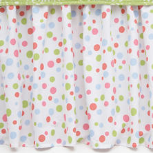 Polka Dot Multi Bed Skirt