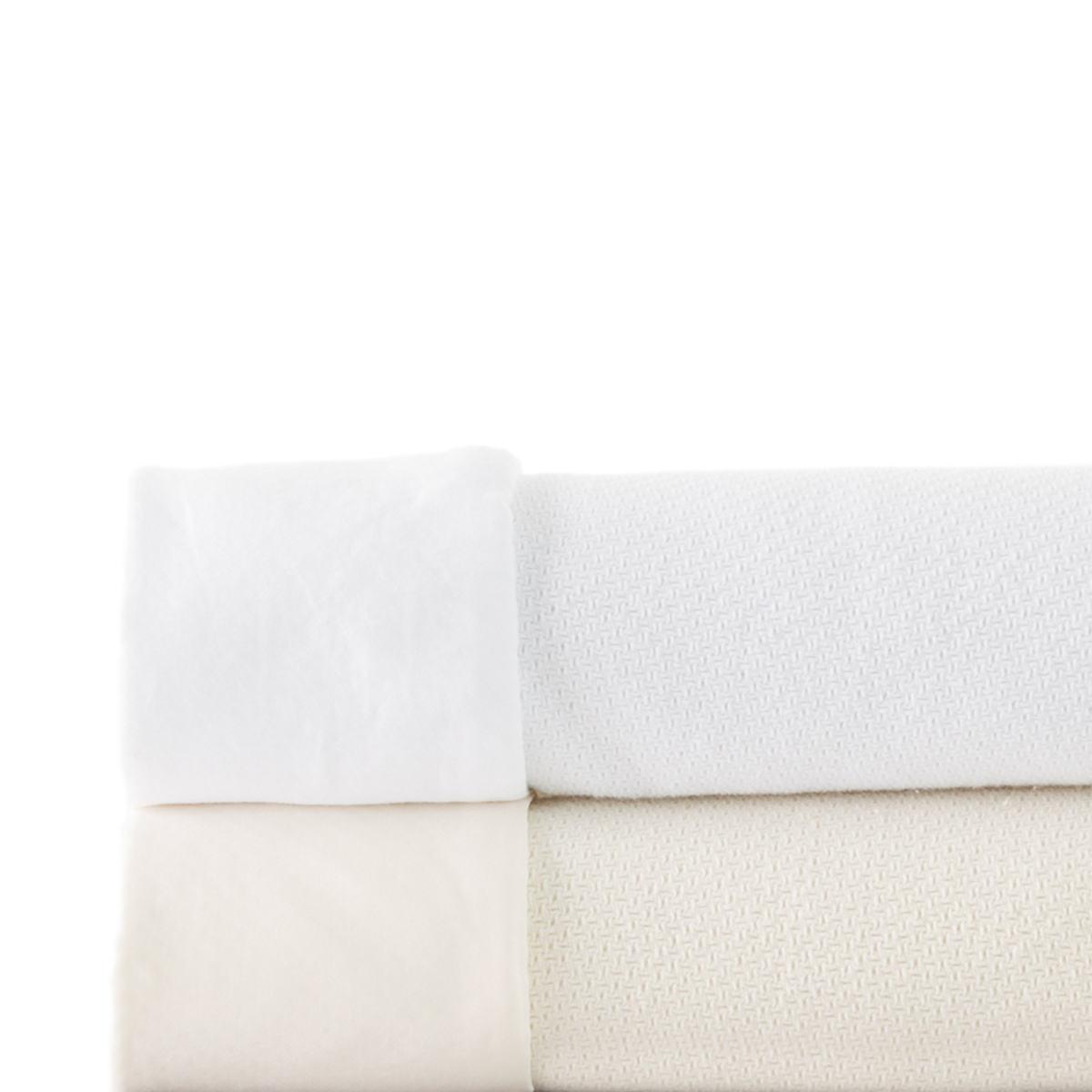 Positano White Blanket