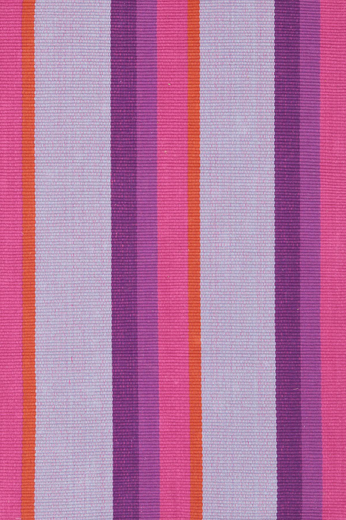 Quartz Stripe Woven Cotton Rug