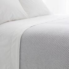 Quinn Shale Cotton Blanket