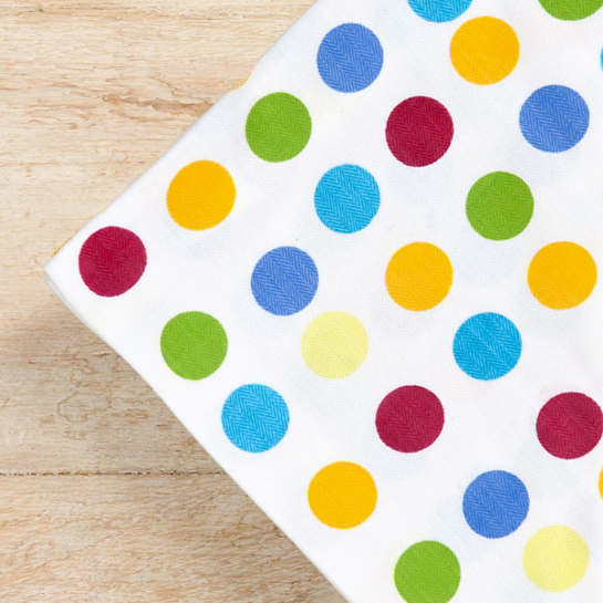 Rainbow Dot Napkins / set of 4