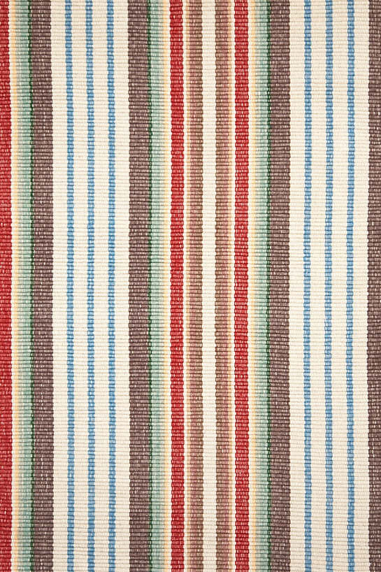 Ranch Stripe Woven Cotton Rug