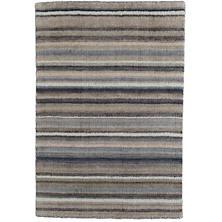 Ranger Stripe Loom Knotted Wool Rug
