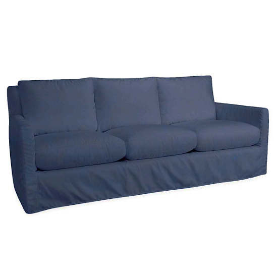 Relax To The Max 3 Seat Outdoor Sofa Denim Heathered