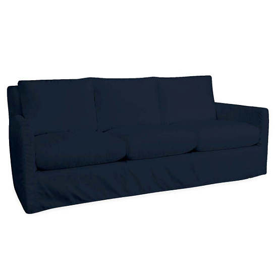 Relax To The Max 3 Seat Outdoor Sofa Navy Canvas