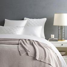 Remy Knit Grey Blanket