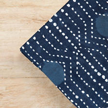 Resist Dot Indigo Napkins