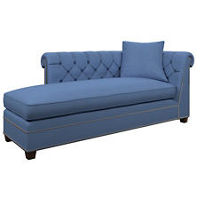 Estate Linen French Blue Richmond Left Facing Chaise