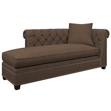 Greylock Brown Richmond Left Facing Chaise