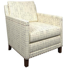 Nicholson Indigo Ridgefield Chair