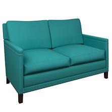 Estate Linen Turquoise Ridgefield Loveseat