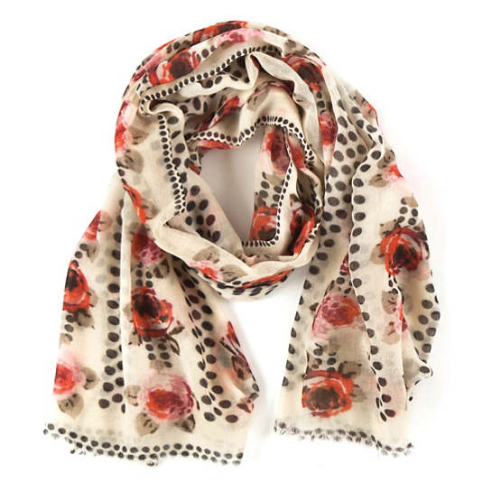 Rose Dots Scarf