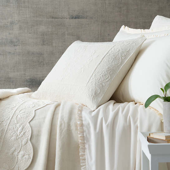 Rousseau Quilted Sham