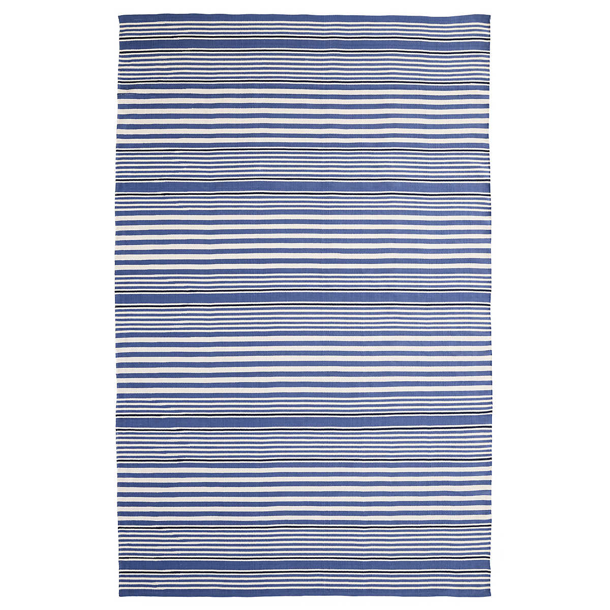 stripe rugs  dash  albert - rugby stripe denim indooroutdoor