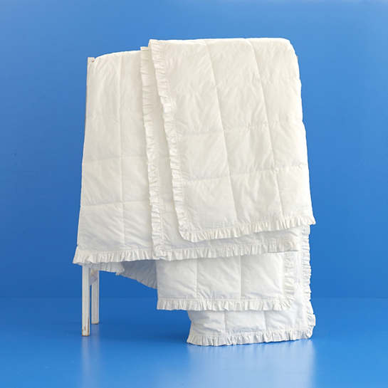 Salutation Down Alternative Ruffled Edge Blanket