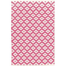 Samode Fuchsia/Ivory Indoor/Outdoor Rug