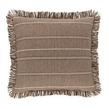Samson Oak Woven Cotton Decorative Pillow