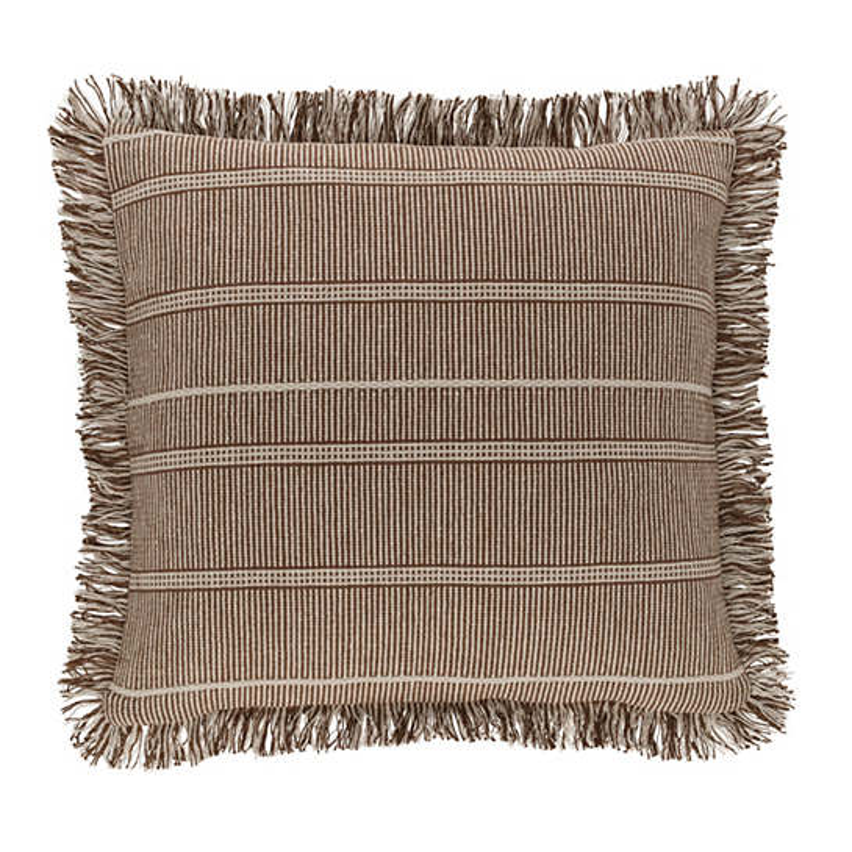 Samson Oak Woven Cotton Decorative Pillow
