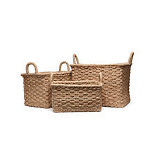 Santana Rectangle Baskets - Set of 3